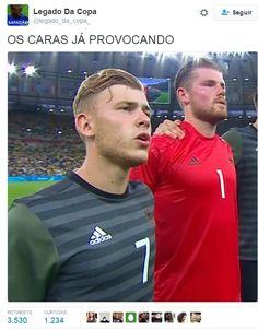Brasil x Alemanha (Foto: reprodução)
