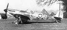 Summer -Fall 1940 Battele of Britian Filgter Plane-X4382, a late production Spitfire Mk I of 602 Squadron flown by P/O Osgood Hanbury, Westhampnett, September 1940
