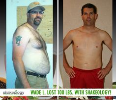 Wade L. lost 100 lbs