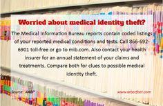 Worried about medical identity theft?  AARP has some suggestions on how to check.