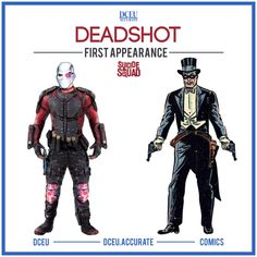 Comic Comparison: Deadshot (DCEU vs First Appearance)