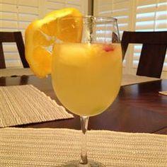 White Sangria with Lemonade Allrecipes.com