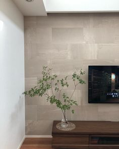 "@mno666onm on Instagram: ""日中の無加工での ストーングレースベージュの色味です。 . . 参考までに...❤︎ . . . #マイホーム#注文住宅#吹き抜けのある家#エコカラット#エコカラットプラス#ドウダンツツジ#壁掛けテレビ#ストーングレース#ストーングレースベージュ"" Interior Design Living Room, Living Room Designs, Bathroom Lighting, Entrance, Mirror, House, Furniture, Instagram, Home Decor"