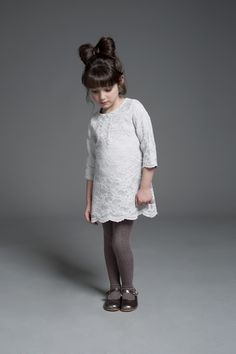 Hucklebones Fall13 - The outfit is cute, but that hair is adorable!