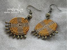 Macrame Rings, Macrame Necklace, Boho Earrings, Crochet Necklace, Micro Macramé, Macrame Earrings Tutorial, Spiritual Jewelry, Handmade Beaded Jewelry, Alternative Fashion