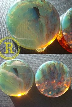 sinking-ships:    plugporn:    Green Amber by Relic Stoneworks        Sweet Baby Jesus!