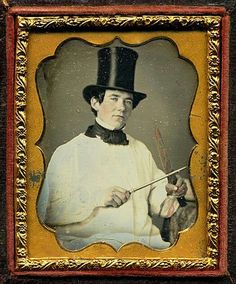 Butcher...... (I think they might have left the blood off the knife!) 1850