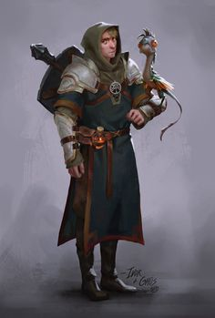 """David Talaski-Brown on Twitter: """"My first and still running #dnd character Ivor and his companion ghüs. #dungeonsanddragons #cleric… """""""