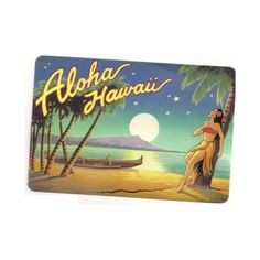 Aloha Hawaii Pictures and Images ❤ liked on Polyvore featuring backgrounds, hawaii, beach, vintage and misc