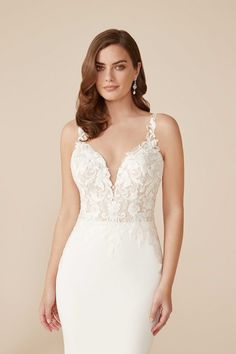 Allure Bridals, White Wedding Dresses, Boho Wedding Dress, Lace Wedding, Bridal Gowns, Wedding Gowns, Plus Size Wedding, Embroidered Lace, Marie