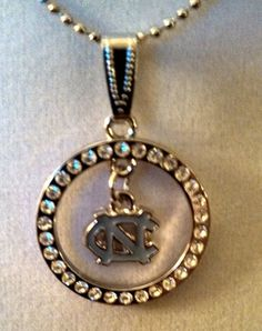 Necklace with a UNC Charm Pendant