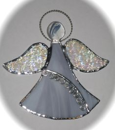 stained glass angels by Cynthia
