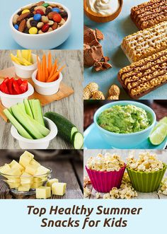 Quick tips and ideas for kids lunches and snacks--healthy, nutritious and fun!