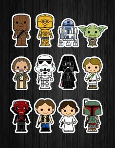 Trendy Ideas For Birthday Kids Party Star Wars Star Wars Baby, Star Wars Kids, Star Wars Quotes, Star Wars Humor, Natal Star Wars, Star Wars Weihnachten, Tema Star Wars, Aniversario Star Wars, Star Wars Christmas