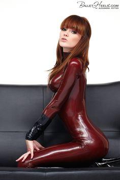 alexandra potter latex porn