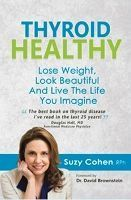 Food list for Thyroid Healthy by Suzy Cohen RPh (2014) - a book that advises how to improve your thyroid health. - Eat a paleo-like diet – low carbohydrate, gluten-free, high protein, vegetables, seaweed, real salt. - Avoid processed foods, caffeine, alcohol, soy, vegetable oil. Limit cruciferous vegetables.