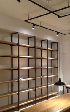 Minimalist Window, Gondola, Supermarket Design, Store Layout, Salon Interior Design, Stationery Shop, Shelving Ideas, Shelf Design, Shop Interiors