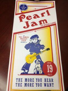 Pearl Jam at Wrigley Field 2013