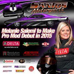 Melanie Salemi entering the Pro Modified fray in 2015