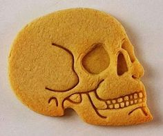Anatomical Human Skull Cookie Cutter