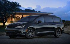 2019 Chrysler Pacifica Hybrid minivan gets sinister S package Chrysler Van, Chrysler Minivan, Maserati, Ferrari, Pacifica Minivan, Plymouth Voyager, Chrysler Pacifica, Automotive News, Car Brands
