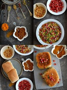 On the Spice Trail: Dabeli {with Homemade Dabeli Masala} - Spice in the City Vegetarian Sloppy Joes, Vegetarian Snacks, Indian Snacks, Indian Food Recipes, Ethnic Recipes, Masala Spice, Snack Recipes, Cooking Recipes, Tea Time Snacks