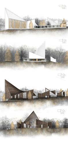 HATLEHOL CHURCH A SPIRITUAL JOURNEY by Konrad Wójcik, via Behance