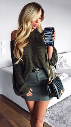 ✨ case by ✨ Instagram Outfits, Gucci Outfits, Fashion Outfits, Womens Fashion, Babe, Fall Winter Outfits, My Wardrobe, Fashion Beauty, Beauty Style