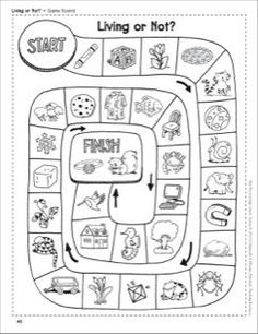 Living and Non Living Things Worksheets Science