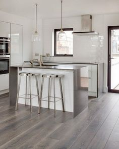 1000 Ideas About Grey Hardwood Floors On Pinterest