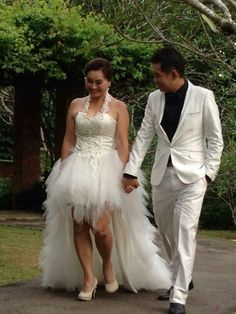 My wedding gown photo shooting with Sandra Leong