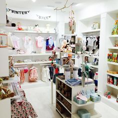 Lovely kids store interior. Sparrow Couture for Kids, Sanctuary Cove, Gold Coast or online at www.sparrowshop.com.au