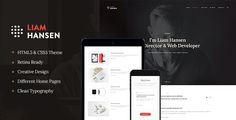 Liam - HTML Creative Freelancers & Agency Template  -  https://themekeeper.com/item/site-templates/liam-html-creative-freelancers-agency-template