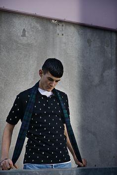 BRAND8 AW14 lookbook  Photo: Nikolaj Møller Styling: Sebastian Machado Grooming: Simon Shaaban Model: Asmus Harm - Scoop Models Cph