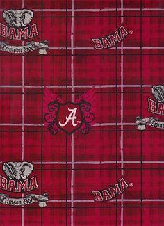 Alabama Crimson Tide Wallpaper | Alabama Crimson Tide Fabric