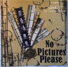 Scattered Pictures and Memories: Imaginarium Designs - No Pictures Please #BoBunny #ImaginariumDesigns