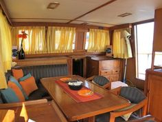 bluewater sailboat interior decor - Google Search