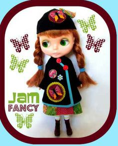Index of free, Blythe doll clothes sewing patterns