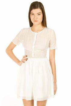 Proenza Schouler Short-Sleeve Shirt Dress