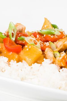 Faster Than Take Out Chicken Pineapple Stir Fry & Rice