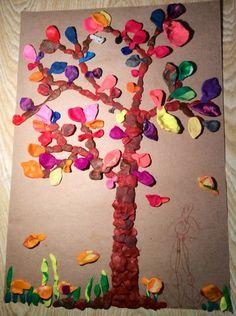 Tree - plasticine art