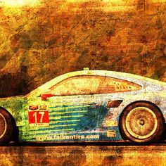Porsche 911 Rsr, Golden Vintage Background, Gift For Men by Drawspots Illustrations Porsche 911 Rsr, Golden Background, Background Vintage, Enfield Bullet, Gull, Digital Art, Instagram Images, Motorcycle, Illustrations