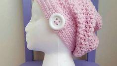 Valerie's Slouchy Beanie Crochet Pattern and fingerless gloves