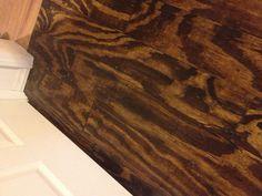 Plywood flooring @Gary Meadowcroft Dannar