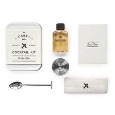 Look what I found at UncommonGoods: Gin and Tonic Carry-On Cocktail Kit for $24.00