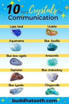 Healing Crystals, Healing Stones, Stones And Crystals, Magick Spells, Witchcraft, Crystal Identification, Improve Communication Skills, How To Make Crystals, Crystal Aesthetic
