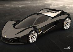 Ferrari World Design Contest Finalist Samir Sadikhov's Xezri Supercar Concept in Detail Bohemian Apartment Decor, Waterproof Sports Watch, Ferrari World, Car Essentials, New Sports Cars, Car Engine, Performance Cars, Turin, Exotic Cars