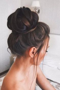 Lovely Bridesmaid Hairstyles with Bun picture 2