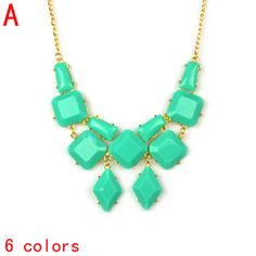Aliexpress.com : Buy bubble collar Geometric summer acrylic stones golden necklace jewelry,NL 2059 from Reliable bubble necklace suppliers on Well Done Fashion Jewelry Co.,Ltd. $5.20