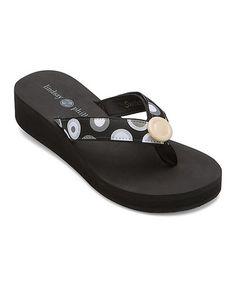 Look at this #zulilyfind! Black Taylor Flip-Flop #zulilyfinds